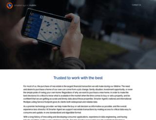 home.smarteragent.com screenshot