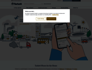 home.tarkett.com screenshot