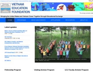home.vef.gov screenshot