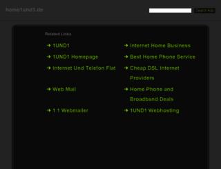 home1und1.de screenshot
