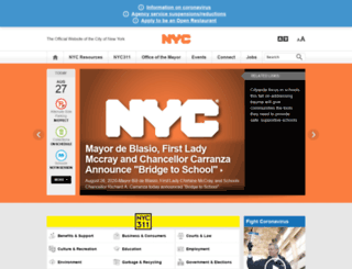 home2.nyc.gov screenshot