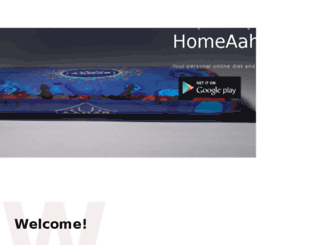 homeaahar.com screenshot