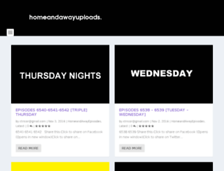 homeandawayuploads.com screenshot