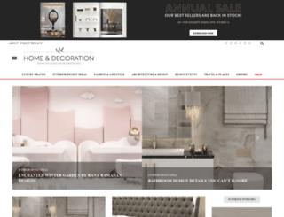 homeandecoration.com screenshot