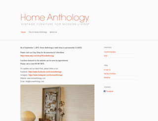 homeanthology.com screenshot