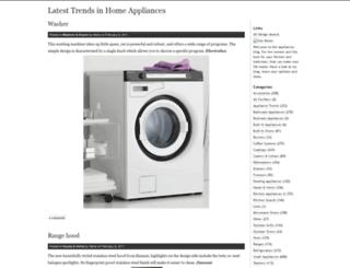 homeappliances.wordpress.com screenshot