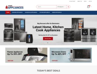 homeappliancesstores.com screenshot
