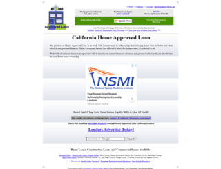 homeapprovedloan.com screenshot