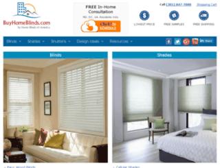 homeblindz.com screenshot