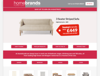 homebrands.co.uk screenshot
