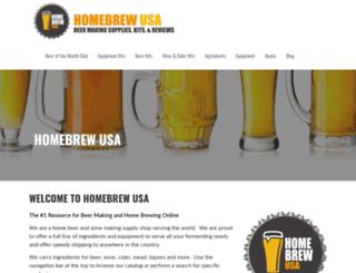 homebrewusa.com screenshot