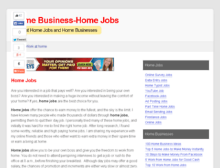 homebusiness-homejobs.com screenshot