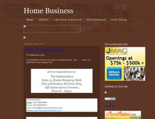 homebusinessmind.blogspot.com screenshot