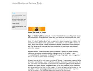 homebusinessreviewtruth.weebly.com screenshot