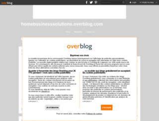 homebusinesssolutions.overblog.com screenshot