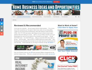 homebusinesstips.com screenshot