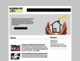 homebuyerfunds.com screenshot