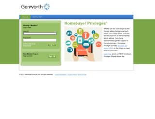 homebuyerprivileges.com screenshot