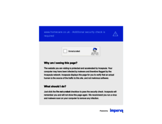 homecare.co.uk screenshot