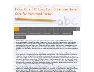 homecare20e.synthasite.com screenshot
