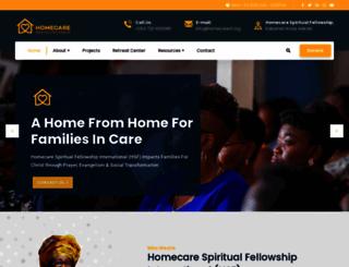 homecaresf.org screenshot