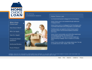 homechoiceloan.ie screenshot