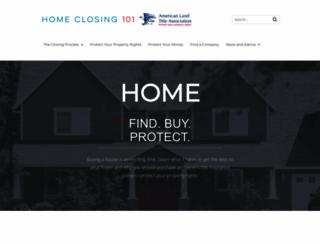 homeclosing101.org screenshot