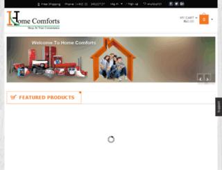 homecomforts.pk screenshot