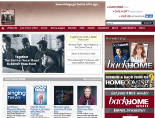 homecomingmagazine.com screenshot