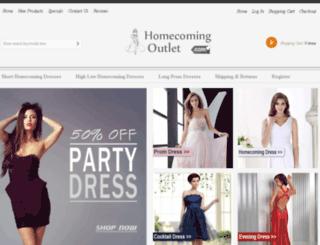 homecomingoutlet.com screenshot