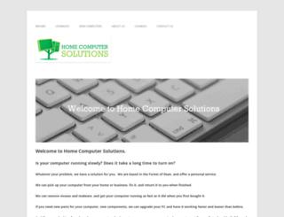 homecomputersolutions.net screenshot