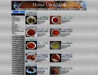homecookbook.info screenshot