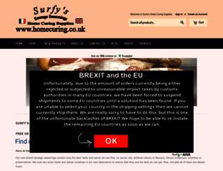 homecuring.co.uk screenshot