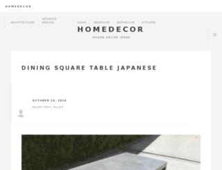 homedecor.dynu.com screenshot