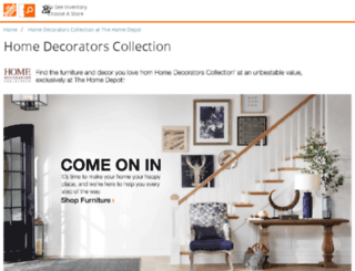homedecoratorsoutlet.com screenshot