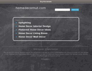homedecornut.com screenshot