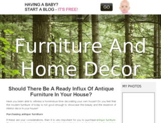 homedecorproductsinfo.bravesites.com screenshot