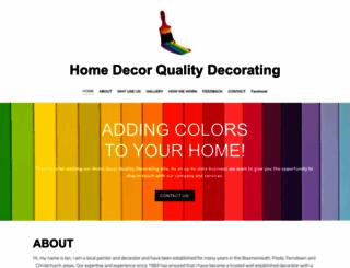 homedecorqualitydecorating.co.uk screenshot