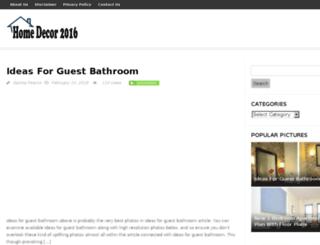 homedecors2016.com screenshot