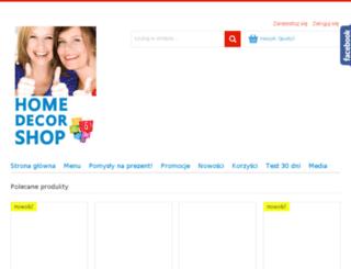 homedecorshop.pl screenshot