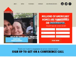 homedefenders.nationbuilder.com screenshot