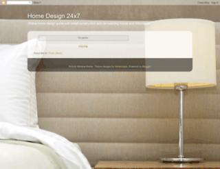 homedesign24x7.blogspot.com screenshot