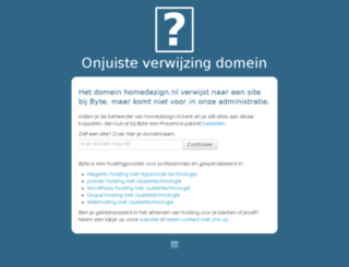 homedezign.nl screenshot