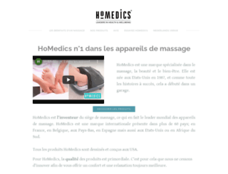homedics.fr screenshot