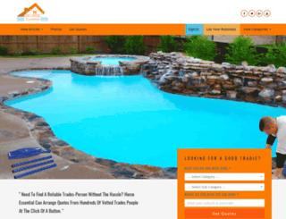 homeessential.com.au screenshot