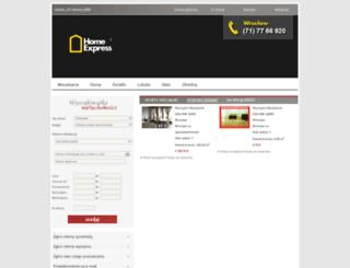 homeexpress.pl screenshot