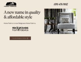 homefabrics.co.nz screenshot