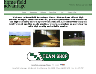 homefieldadvantage.storesecured.com screenshot