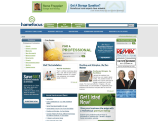 homefocus.com screenshot