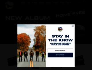homefreemusic.com screenshot